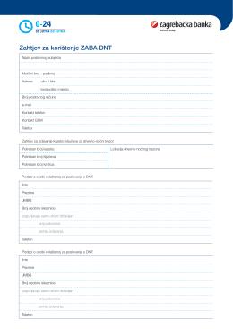Zahtjev za korištenje ZABA DNT pdf 0.04MB
