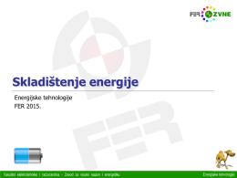 Skladištenje energije