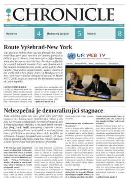 Noviny Chronicle – 7. číslo XXI. ročníku