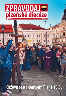 Křížová cesta centrem Plzně 18.3.