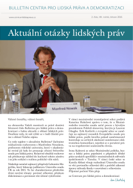 Stáhnout  - Centrum pro lidská práva a demokratizaci