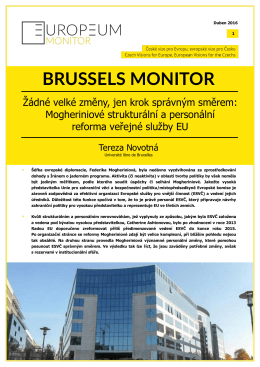 brussels monitor