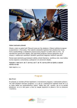 Firemní plavby a teambuilding na jachtách
