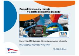 Perspektivní trendy v oblasti inteligentní mobility - Top
