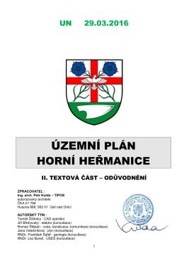 ÚP HH UN OD - Horní Heřmanice