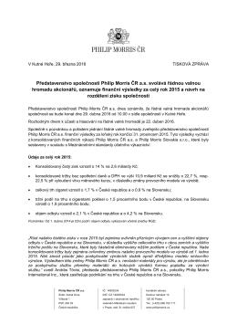 PDF 389kb - Philip Morris