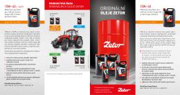 Katalog olejů Zetor Stáhnout PDF