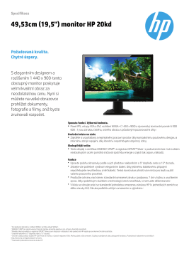 PSG Consumer Monitor Features Datasheet