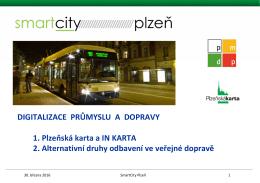 Plzeňská karta a InKarta Českých drah - Top