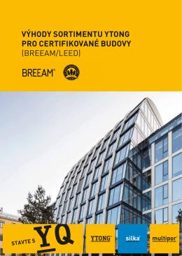 Vyhody Ytong pro certifikované budovy