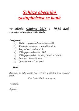 Program zde