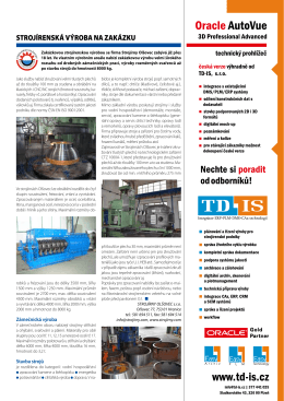 Techmagazín 2011 - Strojírny Olšovec