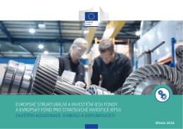 (esi) fondy a evropský fond pro strategické investice (efsi)