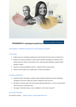 traineeship