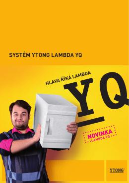 SYSTÉM YTONG LAMBDA YQ