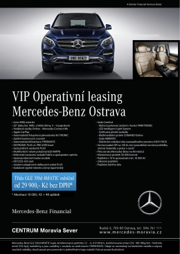 od 29 900,- Kč bez DPH - Mercedes