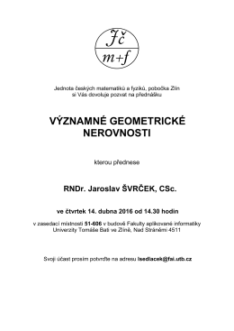 v přiloženém dokumentu - Jednota českých matematiků a fyziků