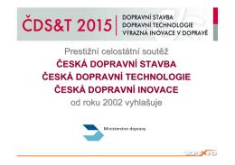 Česká dopravní stavba, technologie, inovace roku - Top
