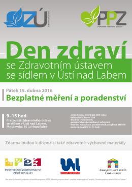 více zde - Zdravotní ústav se sídlem Ústí nad Labem