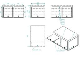 Příloha ZD č. 3 - Nákres nástavby vozidla pro mimořádné události