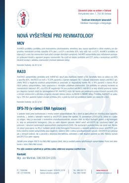MCV, RA33, DFS-70 (v rámci ENA typizace)