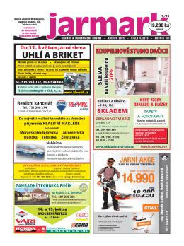 Otevřít toto vydání - Reklamní a informační noviny Jarmark