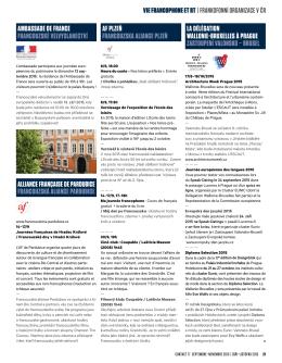ambassade de france francouzské velvyslanectví alliance française