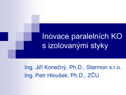 Nové zapojení detekční části dvoupásových PKO