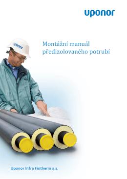 Montážní manuál předizolovaného potrubí
