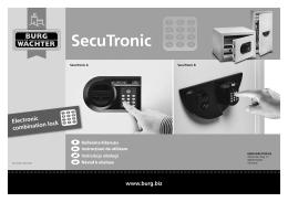 SecuTronic - Etrezory.cz