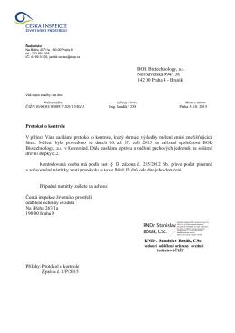 ČIŽP_Dopis_protokol o kontrole_měření emisí_5.10.15