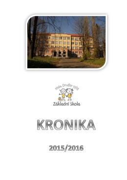Přehled akcí za období 2015