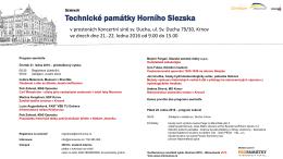 Technické památky Horního Slezska - rozvoj