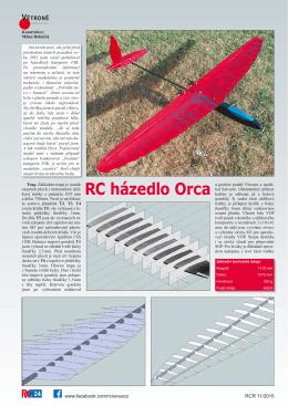 RC házedlo Orca
