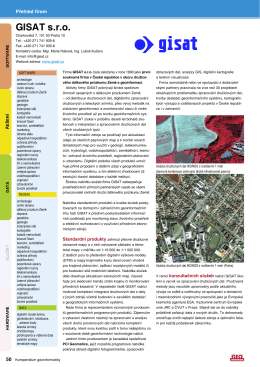 GISAT s.r.o. - GeoBusiness