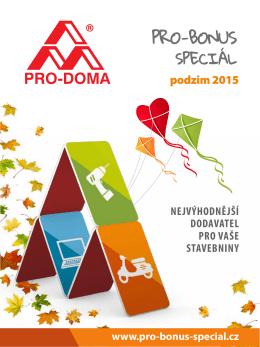 podzim 2015 - PRO