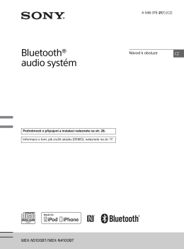 Bluetooth® audio systém