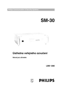 Rozhlasová ústředna SM-30