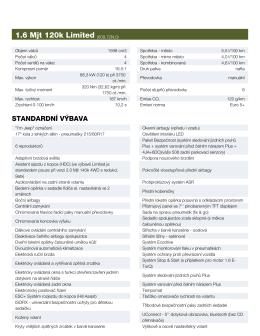 1.6 Mjt 120k Limited (609.72N.0)