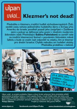 Klezmer`s not dead!