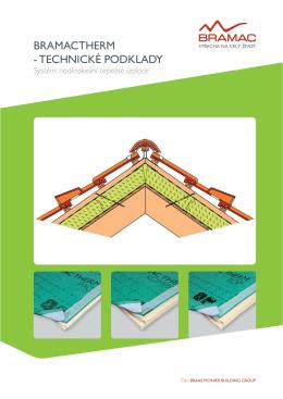 BramacTherm - technické podklady 2015
