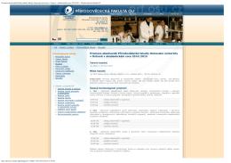 Promoce absolventů Přírodovědecké fakulty Ostravské univerzity v