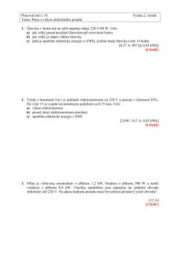 Pracovní list č. 18