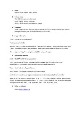Program v PDF