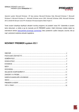 1 - PREMIER system