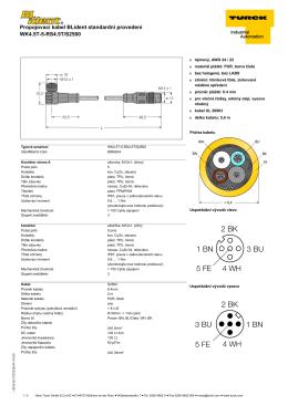 Katalogový list (česky)