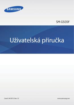 Nastavení - Galaxy S6 Manual User Guide