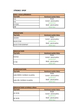 Kotle - výrobci - komíny.xlsx