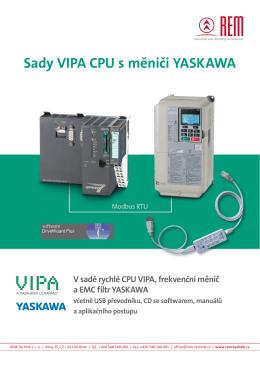 Ceník sad CPU od VIPA a frekvenčních měničů Yaskawa