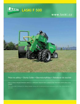 LASKI F 500 - Eastern Farm Machinery